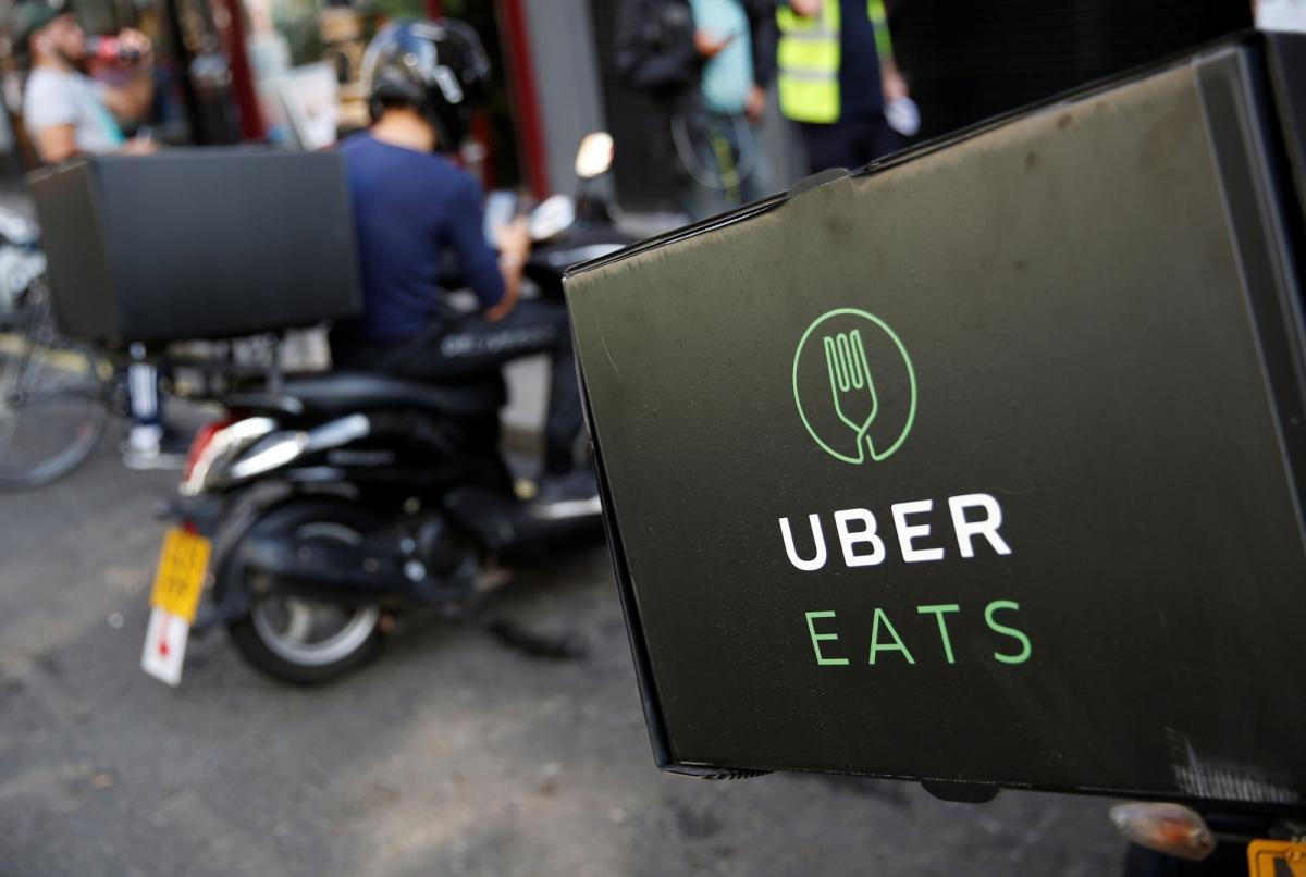 Entregador Uber Eats