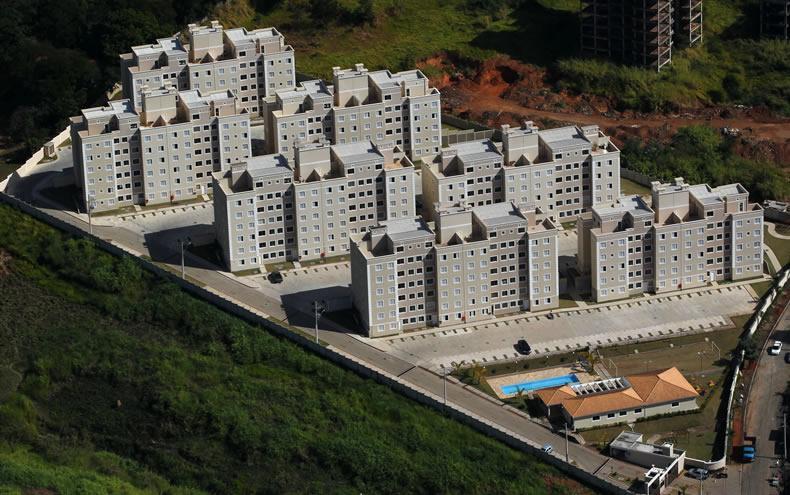Prédios da MRV no EsmeraldaVille de Campinas